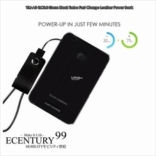 ECENTURY99 STORMBLACK 12,500mAh QUICK CHARGE 3.0 Power Bank with USB-C