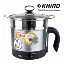 Khind Multi Cooker MC12S (1.2L) - 1 Year Warranty