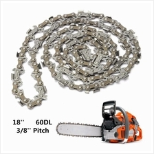 18 Inch 60 Drive Substitution Chainsaw Saw Mill Chain 3/8 Inch Links P