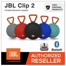 JBL Clip 2 Ultra-Portable Waterproof Bluetooth Speaker - Original