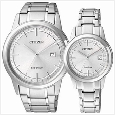 CITIZEN AW1231-58A FE1081-59A Eco-Drive Couple Watch