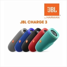 JBL Charge 3 Rechargeable Waterproof Portable Bluetooth Speaker