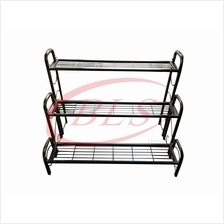 3 LAYER IRON STAND MULTI LEVEL FLOWER POT PLANTS RACK