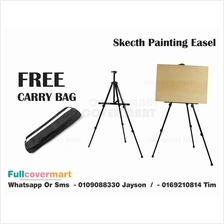 sketch painting easel folding telescopic advertising display frame