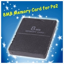 New 8MB 8M 8 MB Memory Card for PS2 Playstation 2 PS 2