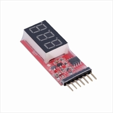 RC Voltage Lipo Battery Meter Tester Indicator 2-6 cells LED Panel Vol..