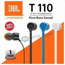 JBL T110 In-Ear Headphones Pure Sound Bass [Original]