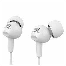 JBL C100SI In-Ear Headphones with Mic (White) Original