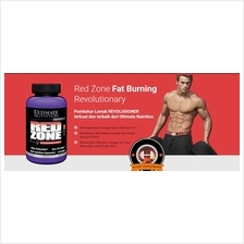 Ultimate Red ZONE Fat Burner ( Bakar Lemak+Energy+Detox) 120Caps Rm90