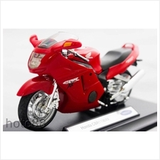 WELLY Die Cast Motorcycle Red Honda CBR1100XX 1/18 Collection model