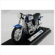 Welly 1:18 DIECAST Motocycle BMW 75/5 Blue Color Model COLLECTION New
