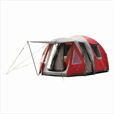 Coleman Family Outdoor Camping 5 Person Waterfall Tent