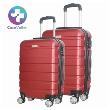Case Valker Muuji Premium Luggage Bag ABS Hard Case Bag 20'/ 24' inch