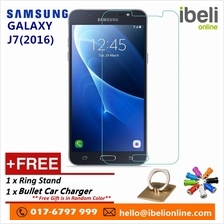Samsung Galaxy J7(2016) Premier HD 9H Tempered Glass+Free iRing Phone Stand &F