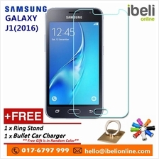 Samsung Galaxy J1(2016) Premier HD 9H Tempered Glass+Free iRing Phone Stand &F