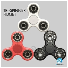 Newest Hand Spinner Tri Fidget Ceramic Ball Desk Focus Toy EDC