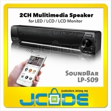 Soundbar LP-09 Wireless Bluetooth Subwoofer Speaker for Phone LCD PC