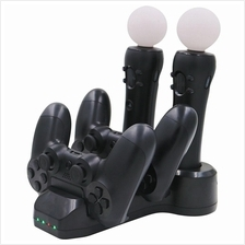PS4 PS MOVE VR 4 IN 1 CHARGING STATION (BLACK)