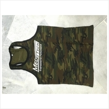 Meditech Singlet ( Gym Fitness Sport Baju ) (high quality cotton)