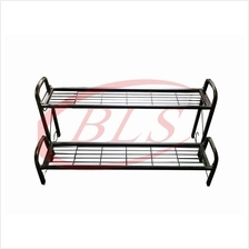 2 LAYER IRON STAND MULTI LEVEL FLOWER POT PLANTS RACK