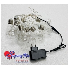 LIGHT BULB LED DECORATION LIGHT L3086 10 BULB & 3 METER