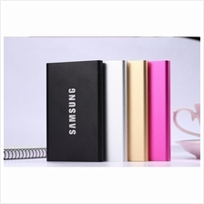 Aluminium Thin Samsung Dual Ultra Super Slim Powerbank 20000mAH