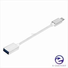 SEENDA Aluminum USB 3.0 TYPE C TO USB-A OTG Braided Cable Adapter
