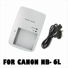 CB-2LYE Battery Charger For Canon NB-6L NB6L  IXUS 200is/ SD400is