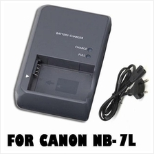 CB-2LZE Battery Charger For Canon NB-7L NB7L  G10/G12