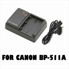 Battery Charger for CANON BP-511/ BP511A/ BP-508 EOS50  40D 30D 20D