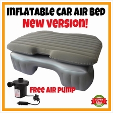 NEW VERSION Inflatable Car Bed Car Back Seat Air Bed Travel Camping