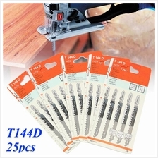 25pcs T144D Tops Tools Jigsaw Blades for Dewalt Bosch Makita Milwaukee