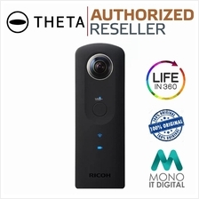 Ricoh Theta S 360° Spherical VR Digital Video Camera 8GB Wi-Fi
