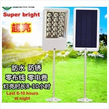 Solar Power Super Bright Street Light with Reflector ~ New Version