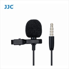 JJC SGM-28 Lavalier Microphone Clip Mic for 3.5mm Mobile Phone Apple S