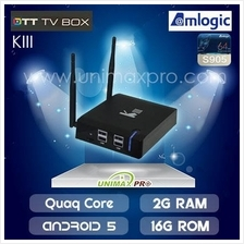 KIII - TV BOX CS918 ZIDOO MIBOX  MXQ HIMEDIA M8S MI UBOX UNBLOCK TECH