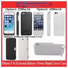 Apple iPhone 5 5s External Battery Power Bank Cover Case 4200mAh