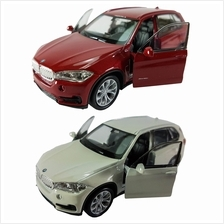 Welly 1:34-1:39 Die-cast BMW X5 Car Red / White Color Model Collection New Gif