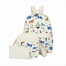 JF TAHH32 Fashion Girl´s Candy Color Backpack Set - 7 Colors