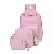 JF TAHH29 Fashion Girl´s Candy Color Backpack Set - 5 Colors