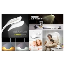 LED Table Desk Lamp Brightness Adjust Sleep Study USB Internal Battery