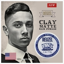 REUZEL Water Soluble Clay Matte Hollands Finest Hair Pomade (113g)
