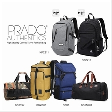 Prado Authentics High Quality Canvas Travel Fashion Bag Backpack
