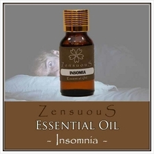 ZENSUOUS Essential Oil - Insomnia (Blend)