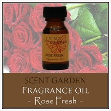 SCENT GARDEN Fragrance Oil - Rose Fresh 15ml