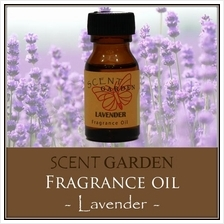 SCENT GARDEN Fragrance Oil - Lavender 15ml