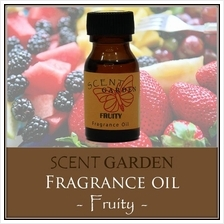 SCENT GARDEN Fragrance Oil - Fruity 15ml