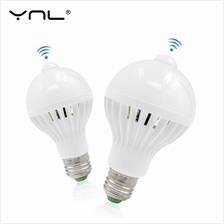YNL LED PIR Motion Sensor Lamp Light Bulb E27 220v Cold White