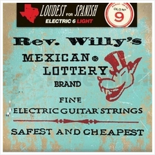 Dunlop RWN0942 Reverend Willy's Fine Electric Guitar Strings