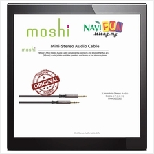 ★ Moshi Mini-Stereo Audio Cable 6 ft (1.8 m)